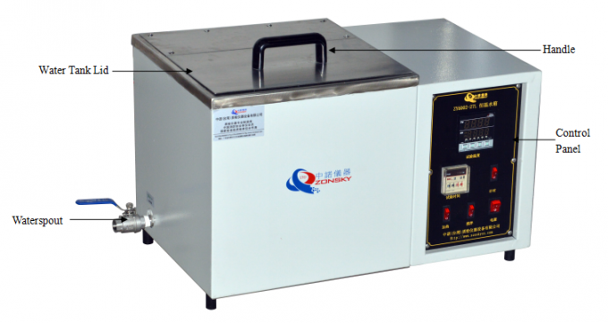 Laboratory Constant Temperature Water Tank / Wire Resistance and Voltage Testing Machine