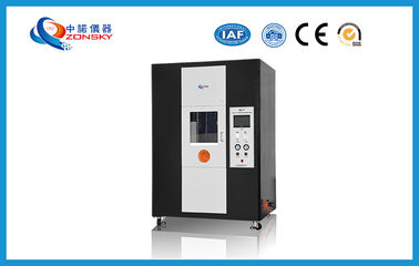 China Vertical Single Wire And Cable Testing Equipment 170~190 MM Total Flame Height supplier