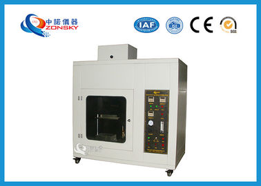 China UL 94 Flammability Testing Equipment , Foam Plastics Horizontal Combustion Apparatus supplier