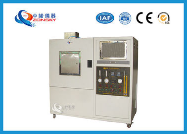 China Baking Finish Plastic Smoke Density Chamber With ISO565 Certification supplier