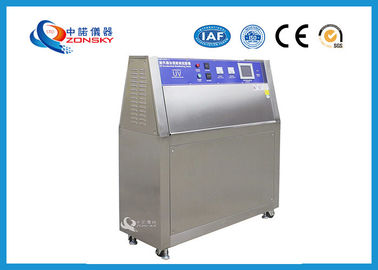 China SUS 304 UV Testing Machine High Durability 75x150 MM Irradiance Uniformity supplier