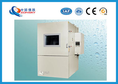 China Baking Finish Humidity And Temperature Controlled Chamber Programmable White Color supplier