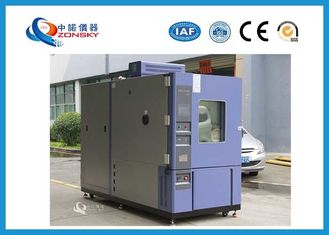 China Computer Controlled Thermal Shock Chamber Switch Cold And Hot Air By Cylinder Valve supplier