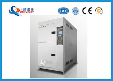 China SUS304 Thermal Shock Test Chamber / IEC 60068 Environmental Testing Machine supplier