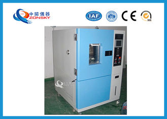 China Baking Finish ASTM Ozone Aging Test Chamber 12 ~ 16 mm/s Airflow Speed supplier