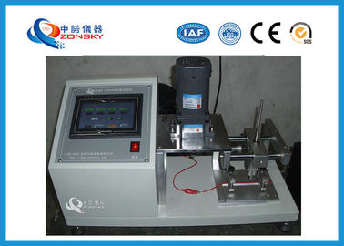 China Wire Cover Abrasion Testing Equipment For Communication Cable Insulation Skin supplier