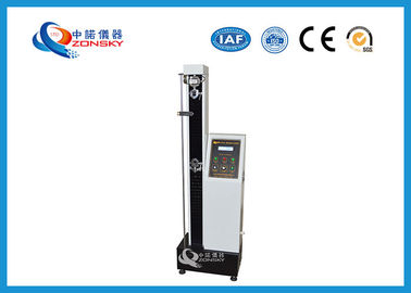 China Microcomputer Wire Tensile Testing Machine Display Burst Value With Peak Locking Function supplier