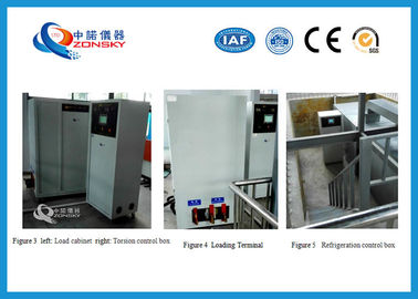 China Low Temperature Torsion Test Equipment For Wind Power Cable Saving Energy supplier