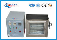 China 38 MM Flame Height Flammability Testing Equipment For Automobile Interior Material factory