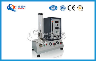 Intelligent Digital Display Oxygen Index Tester / High Precision Oxygen Index Apparatus
