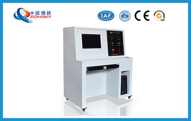 China High Performance Flammability Testing Equipment , Fire Hose Testing Machine factory