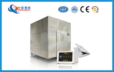 China Automatic Micro Controlled FRLS Testing Instruments , Plastic Smoke Density Test Apparatus factory