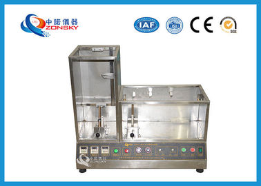 China High Precision Flammability Testing Equipment / Combustion Test Equipment factory