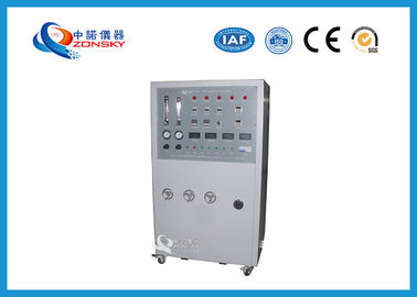 China IEC 60331 Movable Cable Integrity Flammability Testing Equipment / Combustion Chamber factory