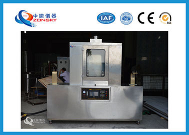 China MT386 Stainless Steel Mine Cable Load Combustion Test Chamber / Testing Equipment factory
