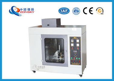 China 120 ~ 150 A Glow Wire Test Apparatus IEC 60695 Standards 1200x600x1080 MM factory