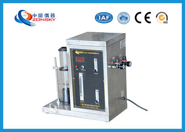 Digital Display Oxygen Index Apparatus Identify Polymers Flame Retardancy