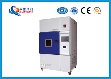White Color  Xenon Arc Test Chamber Baking Finish Programmable High Accuracy