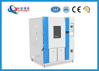 China High And Low Temperature And Humidity Test Chamber 7 Inch LCD Touch Panel factory