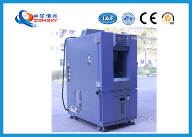 Blue Color Constant Temperature Humidity Chamber Multi Group PID Control