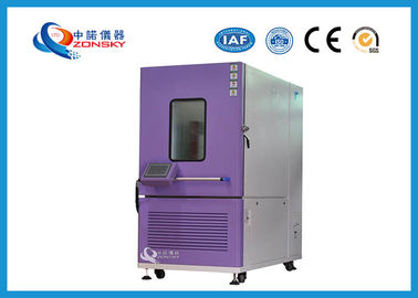 China Constant Temperature Humidity Test Chamber Stainless Steel Plate Material factory
