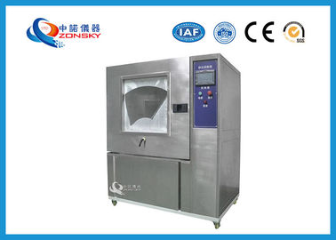 China Benchtop Sand Dust Test Chamber 25% ~ 75% R.H Relative Humidity For Auto Parts factory