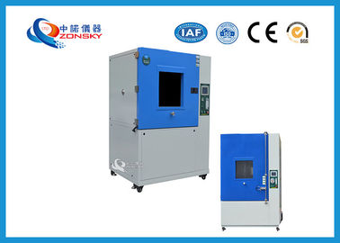 Simulated Sand Dust Test Chamber , IEC 60529 Sand / Dust Testing Equipment
