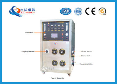 Movable FRLS Testing Instruments , Cable Integrity Flammability Testing Equipment