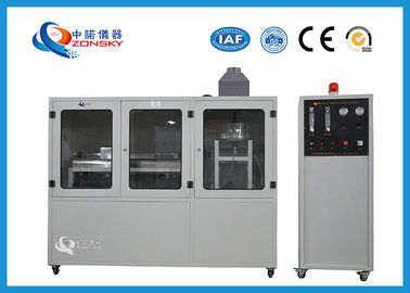 China Stainless Steel Flammability Testing Equipment For Smoke Toxicity Classification factory