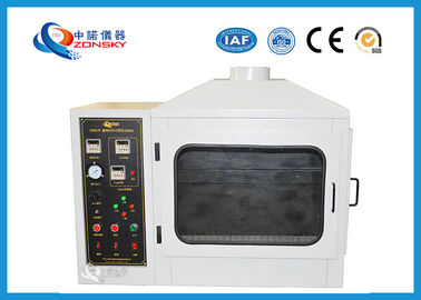 China AC 220V 50Hz Flammability Testing Equipment , Combustion Test Equipment factory