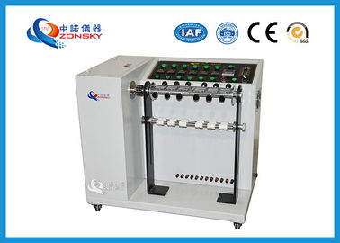 Adjustable Speed Bend Test Equipment / 6-set Wire And Cable Swing Testing Machine