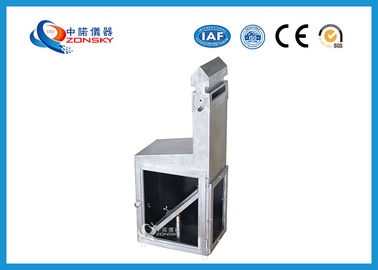China Stainless Steel Flammability Testing Equipment For Fire Retardant Paint factory