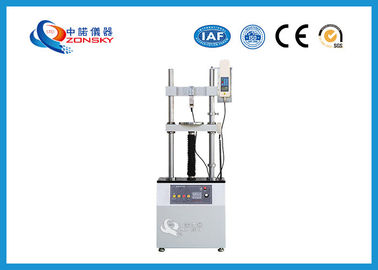 Double Pole Tensile Strength Testing Equipment , Electric Vertical Tensile Tester