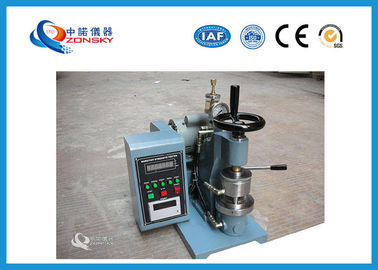 SUS304 Bursting Strength Testing Machine For Leather / Corrugated Cardboard
