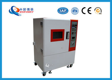 China ASTM D2436 Air Ventilation Aging Test Chamber / Ventilation Type Aging Oven / Rubber Plastic Heat Resistance Tester factory