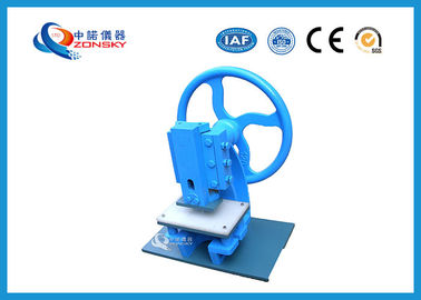 China Manual Rubber and Plastic Sample Slicer / Insulation Materials Cutting Machine factory
