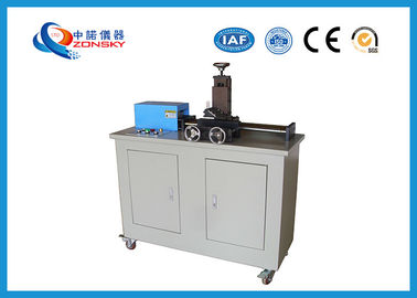 China Cross Linked Cable Cutting Equipment / XLPE Cable Slicing Machine 150 mm/min Cutting Speed factory