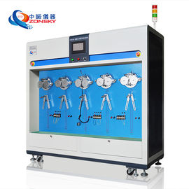 Robot Cable Bend Test Equipment / Stainless Steel Bending Test Apparatus